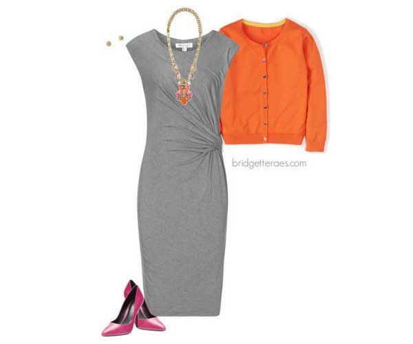 grey work outfits