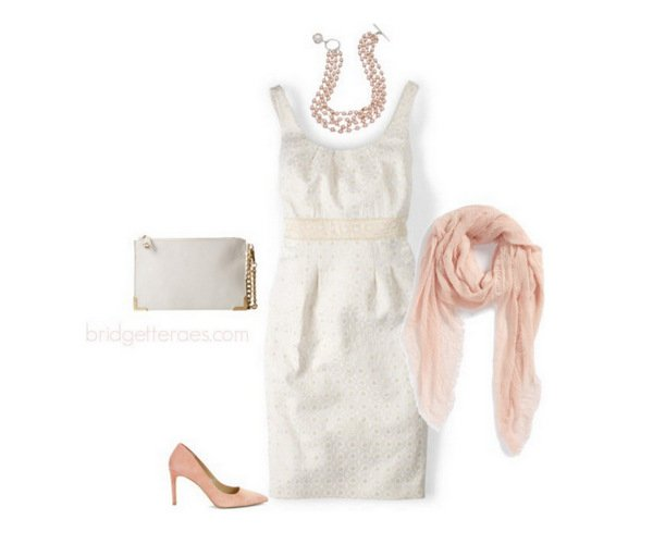 accessorize a white summer dress
