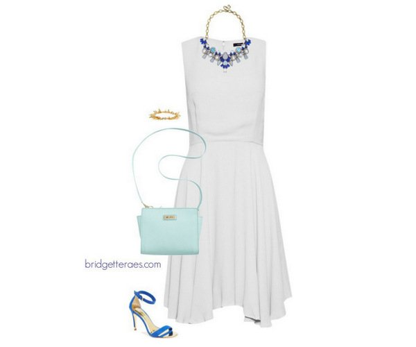 accesorize a white summer dress
