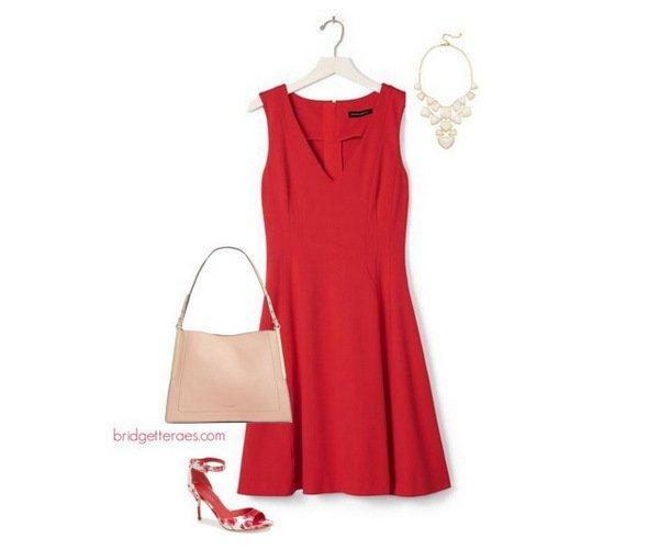 wear wtih red