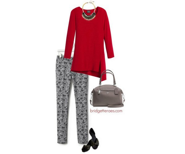 wear with red
