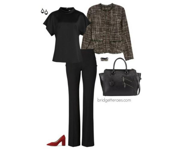 tweed blazers