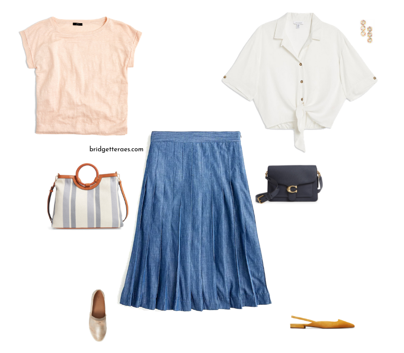 more than one way to style a skirt casually